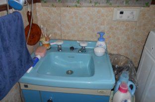 洗面台・トイレの水回りリフォーム工事 施工前