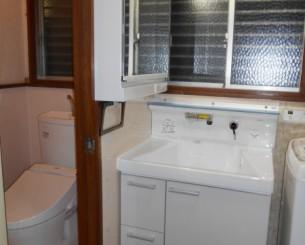 洗面台・トイレの水回りリフォーム工事