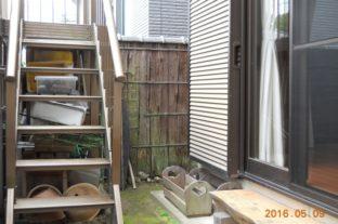 ブロック塀改修工事 施工前