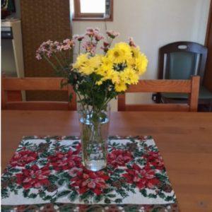 今年もたくさんの菊をいただきました